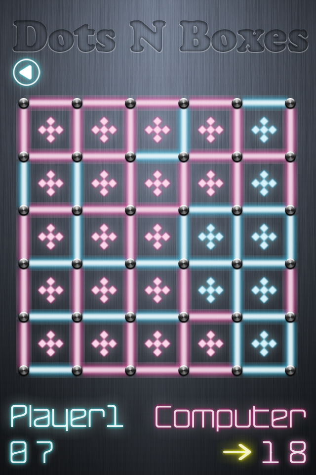 Screenshot Dots N Boxes